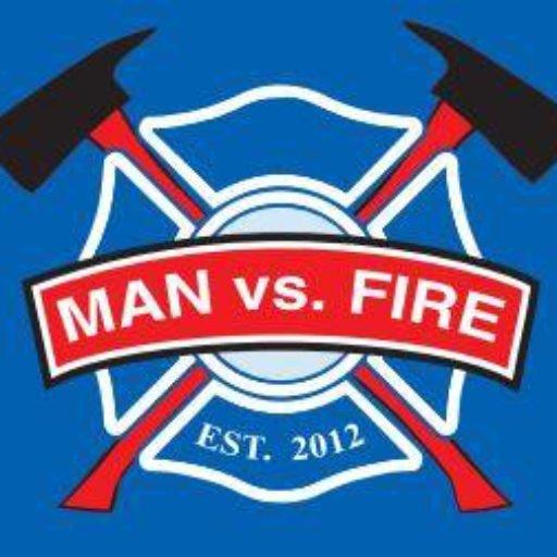 Man Vs Fire Podcast Art